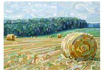 Rural beauty in art / by Mireille Kraft