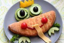 Lustiges Essen für Kinder / So schmecken alltägliche Gerichte gleich viel besser. / by Dr. Oetker Schweiz