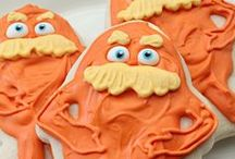 Lorax / Dr. Seuss Party / by Heather - Chickabug