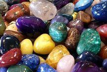 Gems / stones / minerals / crystals / shells / precious metals / by Gareth Thomas