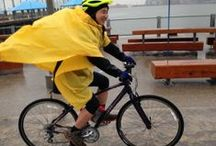 """Bicycling & Cycling  / Learning to ride a bike as an adult takes nerve and a sense of humor. Inspired by Chapter 5 of Some Nerve """"Growing Up: Bicycling"""" / by Patty Chang Anker"""