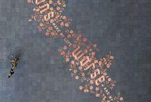 Zachwyty bardziej kaligraficzne / by Izabela Makulus