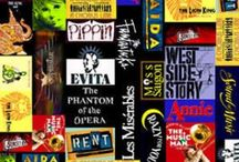 """Broadway Musicals / """"Maureen, I'm NOT A THEATRE PERSON!"""" Actually I am :) My favorites include Rent (separate board), Les miserables (separate board), Next to normal (separate board), Legally blonde, Wicked, Into the woods, Sweeny todd, The book of mormon, Phantom of the opera and Bring it on. Theatre is my joy and life <3333 Thespian till death. / by Anna Diaz"""