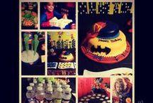 super hero party  / by Katherine Melendez-Sierra