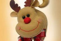 Decorações para o Natal / by Elaine Artesanato