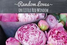 ~random loves~ / by Cassie May - Little Red Window Crafts, DIY, Printables & Recipes