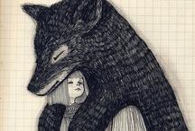 art/illustration / by Tahlee Johnson