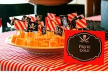Zander & Maddie's Frozen Pirate Party / Combined B-day for our babies this year / by Daphne Caldwell