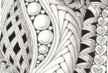 Doodles - Zentangles / Zentangles, Tangles and Zentangle-inspired designs. / by Monica Bourne