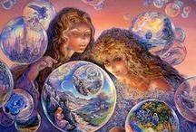 Fantasy - Art by Josephine Wall / By Josephone Wall. I adore her magical works. / by Monica Bourne