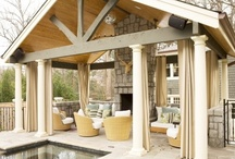 Home - Outdoors / Patios. Landscaping. Pools. Exterior Design. / by Nancy Pentecost