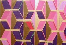 peach / gold / purple / by Emily Leach
