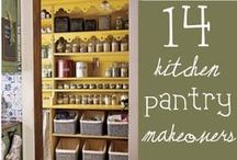 Kitchen Hacks / Get your kitchen and pantry into tip-top shape with these do-it-yourself organization projects and ideas. Once you're organized and ready to begin cooking, visit Diamond of California at www.diamondnuts.com for hundreds of free recipes.  / by Diamond Nuts