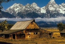 Homesteads / Barns / Days gone by / by Jane Williams