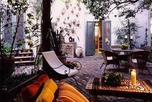 { patios**verandas**porches**outdoors } / by harkiran sodhi