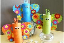 Manualidades Infantiles - child craft / by Alicia López Álvarez