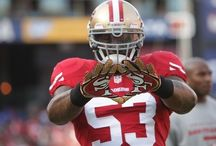 Football Stuff / The coolest football players in the NFL. (Basically the 49ers) / by Serena :)