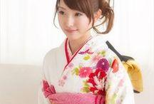 kimono style & 着物 / #kimono style #着物 #きもの #Japan / by Etsuko Osaka
