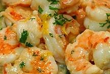 Seafood, Seafood, Seafood! / by Julie Harris Rye