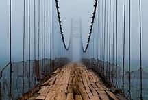 Bridges / How do we get over there? / by David Touchton