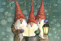 Noël illustration / by Sara Mazzani