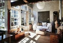 Interior & Exterior / Inspiration for spaces. / by Hannah Farthing