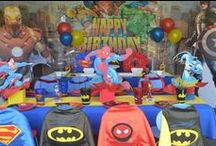 Superhero Birthday / by Terri