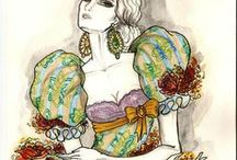 Fashion drawings / by kita