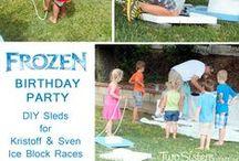 Frozen Birthday / by Terri