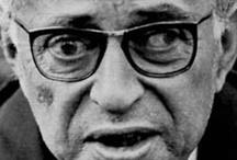 Jean-Paul Sartre / (Paris, 21 june 1905 - 15 april 1980) / by T. Klaassen