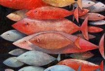 petits poissons dans l'eau & co / by Christel Ponsero