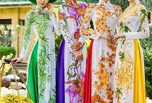 Ao Dai / Traditional Vietnamese Dresses / by Jazz Cat