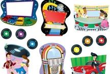 Kindergarten Theme - 50's / by Nikki