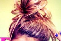 Hair ideas! / by Kelli LeBeouf