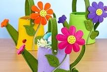 Felt Spring Crafts / Felt crafts for Springing Forward! / by American Felt and Craft