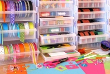 Craft Spaces / Storage / by Sue Bunn