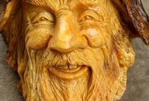 Wood Carving and Wood Projects / by Kathy Meadors