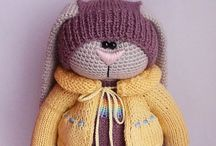 Amigurumi  / Knitted or crocheted toys  / by Elia Fdez - McGuirk