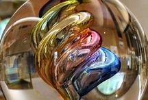 Glass - Glass Art / The beauty, durability and sparkle factor of art through #glass.  / by BottlesUpGlass