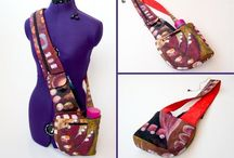 Bags / Some tutorials, ideas and colour, fabric schemes / by Katherine Airey