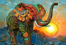 Elephant - Art, Tattoos & Sketches etc / by Chrissie Stevens