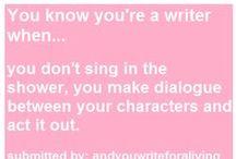 I'm a writer / by Kelsey Jenkins