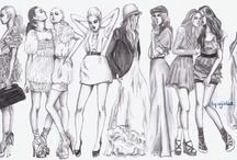 Fashion Illustration  / by Josefina Sally