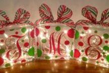 DECK THE HALLS / Christmas Decor-Merry Christmas!!! / by Tamara Olson Tysver