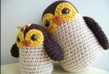 Buhos Crochet / by Alfalfa Accesorios