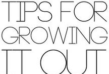 Black Hair Care / Black Relaxed hair or Natural hair can grow too! Pin board is full of great tips and products for growing your hair! / by Geraldine Jeannot