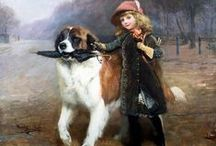 Dogs in Paintings / by D Stewart
