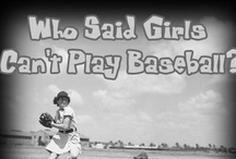 Baseball / American's favorite summer sport. Take me out to the ball park...sing it with me. / by Susan Leahy