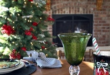 Tablescapes...Christmas / by Zippyrose Alexander