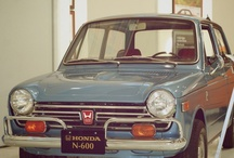 The #FirstHonda, #N600 / Everyone remembers their #FirstHonda. So do we. It was 1969, and our founder, Soichiro Honda, released the #N600 in America. In a world of giant cars, the tiny #N600 stood out. Today, the innovative spirit of Honda lives on through car and driver alike.